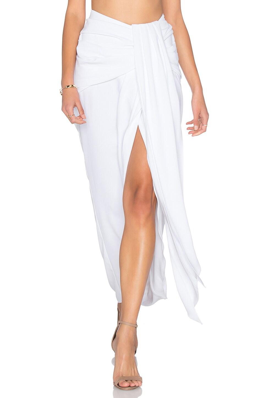 choose authentic lovely design utterly stylish Delfine Draped Midi Skirt