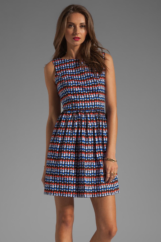 Shoshanna Tillie Dress in Eden Roc Print