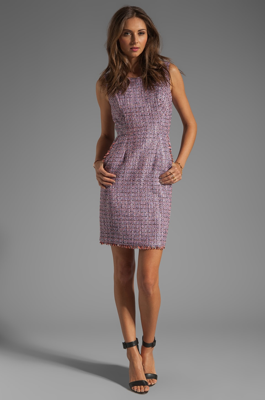 Shoshanna Mika Sheath Dress in Lavender Multi