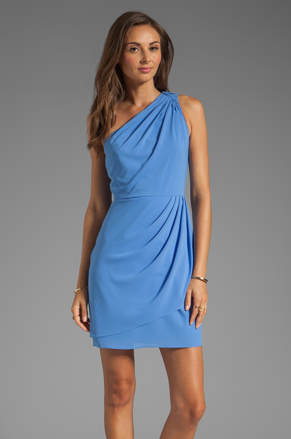 Shoshanna Julie Dress in Cornflower