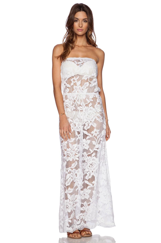 Shoshanna Sale Dresses Shoshanna White Lace Strapless