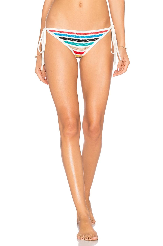 Crochet String Bikini Bottom by Shoshanna Swimwear
