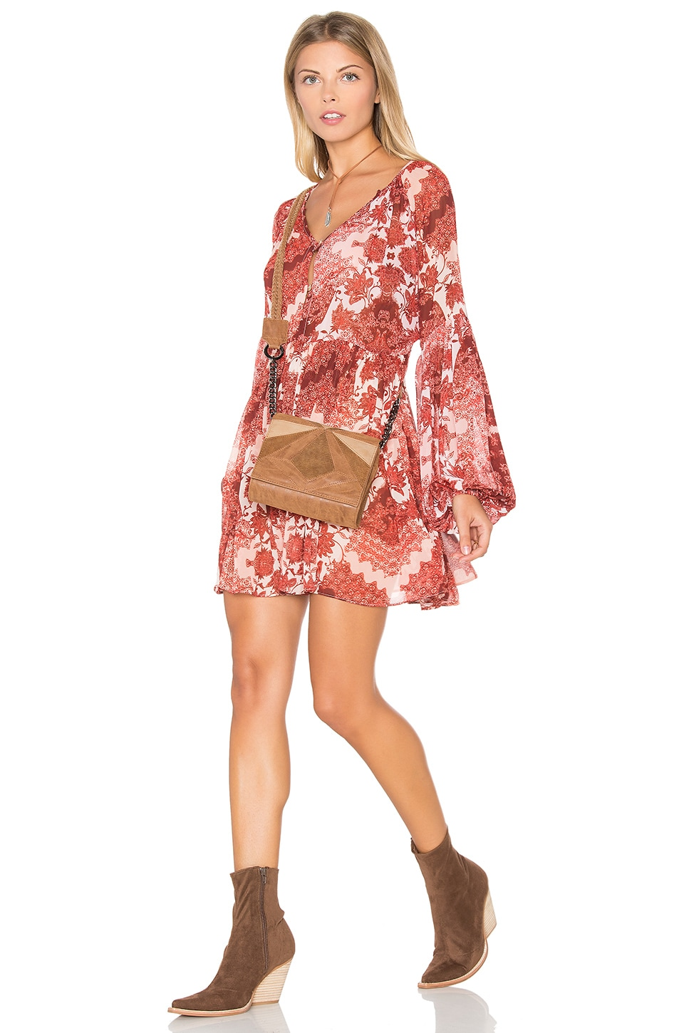 Show Me Your Mumu Sienna Swing Dress in Happy Henna