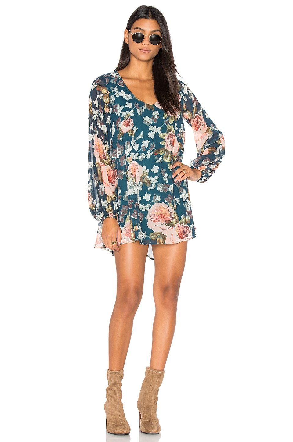 Donna Michelle Tunic Dress in Fall by Show Me Your Mumu