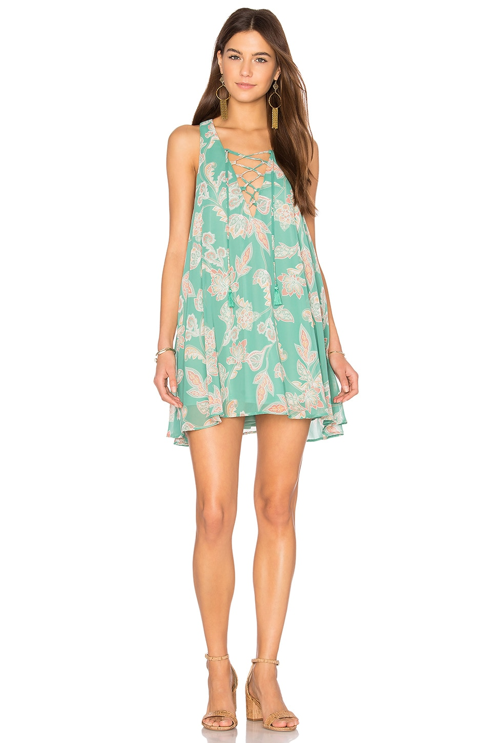 Rancho Mirage Lace Up Dress by Show Me Your Mumu