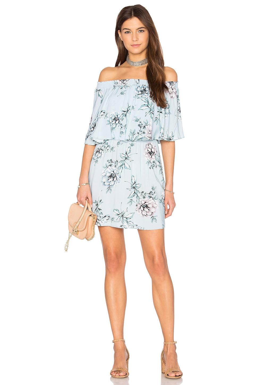 Show Me Your Mumu Casita Mini Dress in Wildflower Breeze
