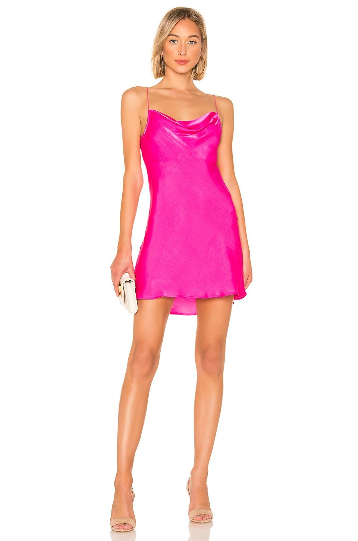 Show Me Your Mumu X REVOLVE Sabine Slip Dress in Flirty Fuchsia