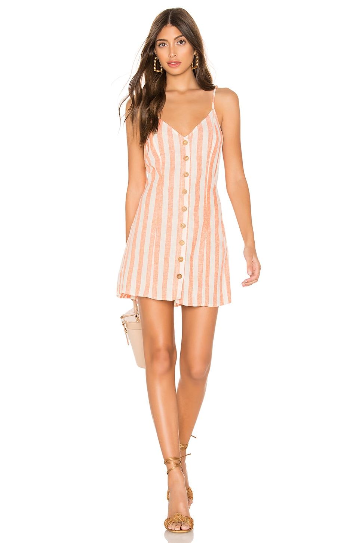 Show Me Your Mumu Remington Dress in Dreamsicle Stripe