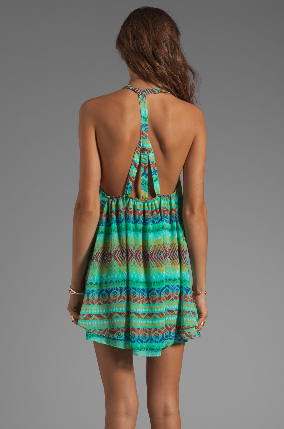 Show Me Your Mumu Candy Strappy Dress in Pinata Party