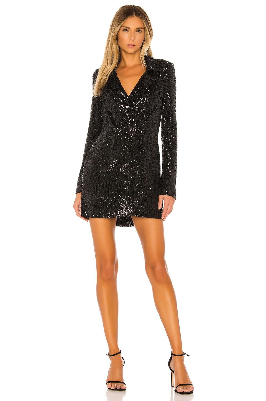 Show Me Your Mumu Bazel Blazer Dress in Limelight Sequins
