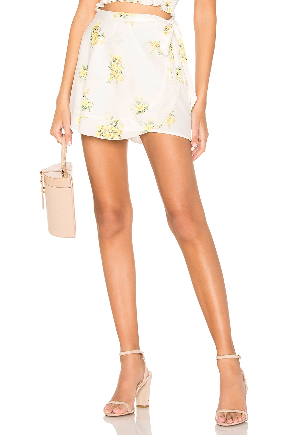 Show Me Your Mumu Shorts RUFFLE WRAP SHORTS