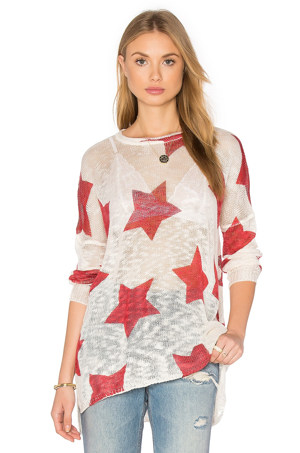 Show Me Your Mumu Bonfire Sweater in Stars