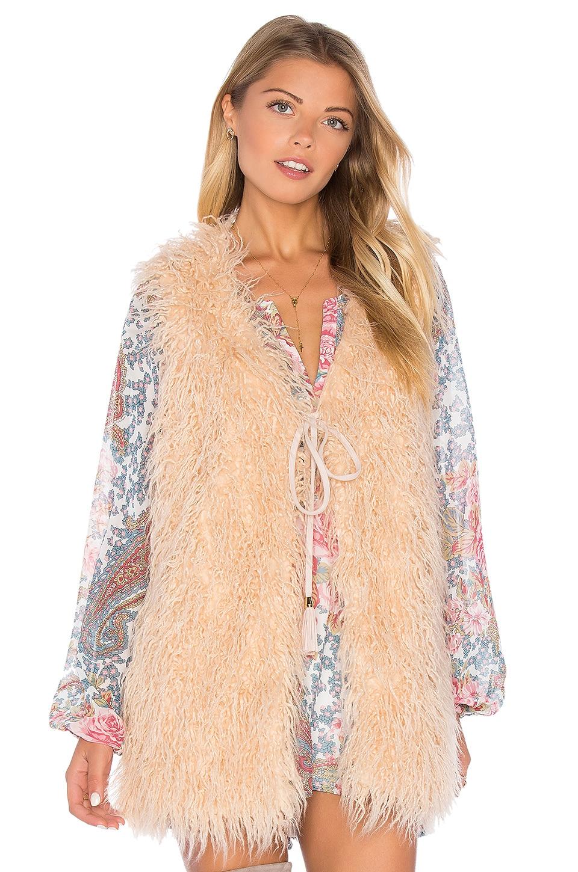 Luis Faux Fur Vest by Show Me Your Mumu