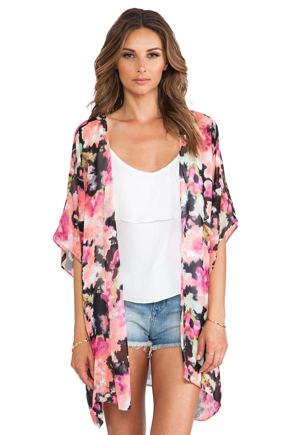 Show Me Your Mumu RY RY Wrap in Pink Posse