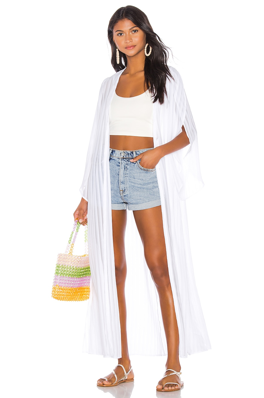 Show Me Your Mumu Layne Kimono in Seashore Stripe