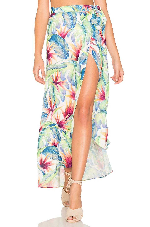 Siren Wrap Skirt by Show Me Your Mumu