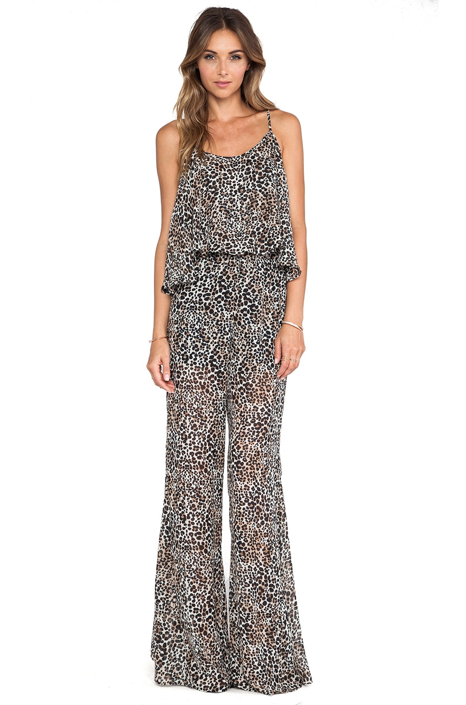 Show Me Your Mumu Danni Jumpsuit in Alex Cheetah