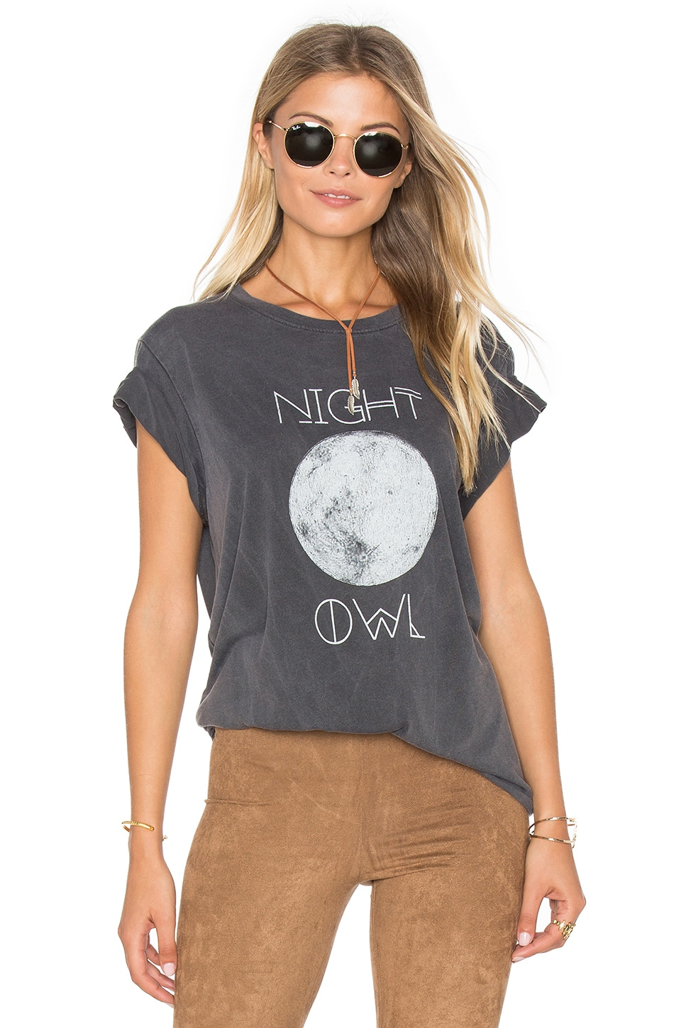 Show Me Your Mumu Oliver Tee in Night Owl Graphic