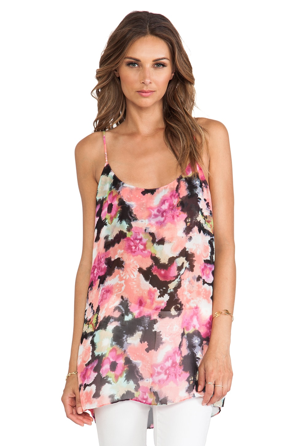 Show Me Your Mumu Estella Top Slip in Pink Posse