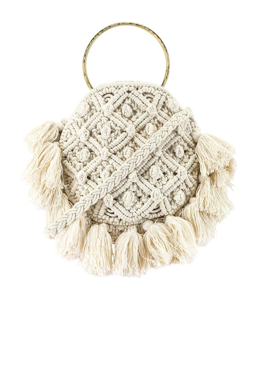 Show Me Your Mumu X Cleobella Francesca Crochet Bag in Ivory