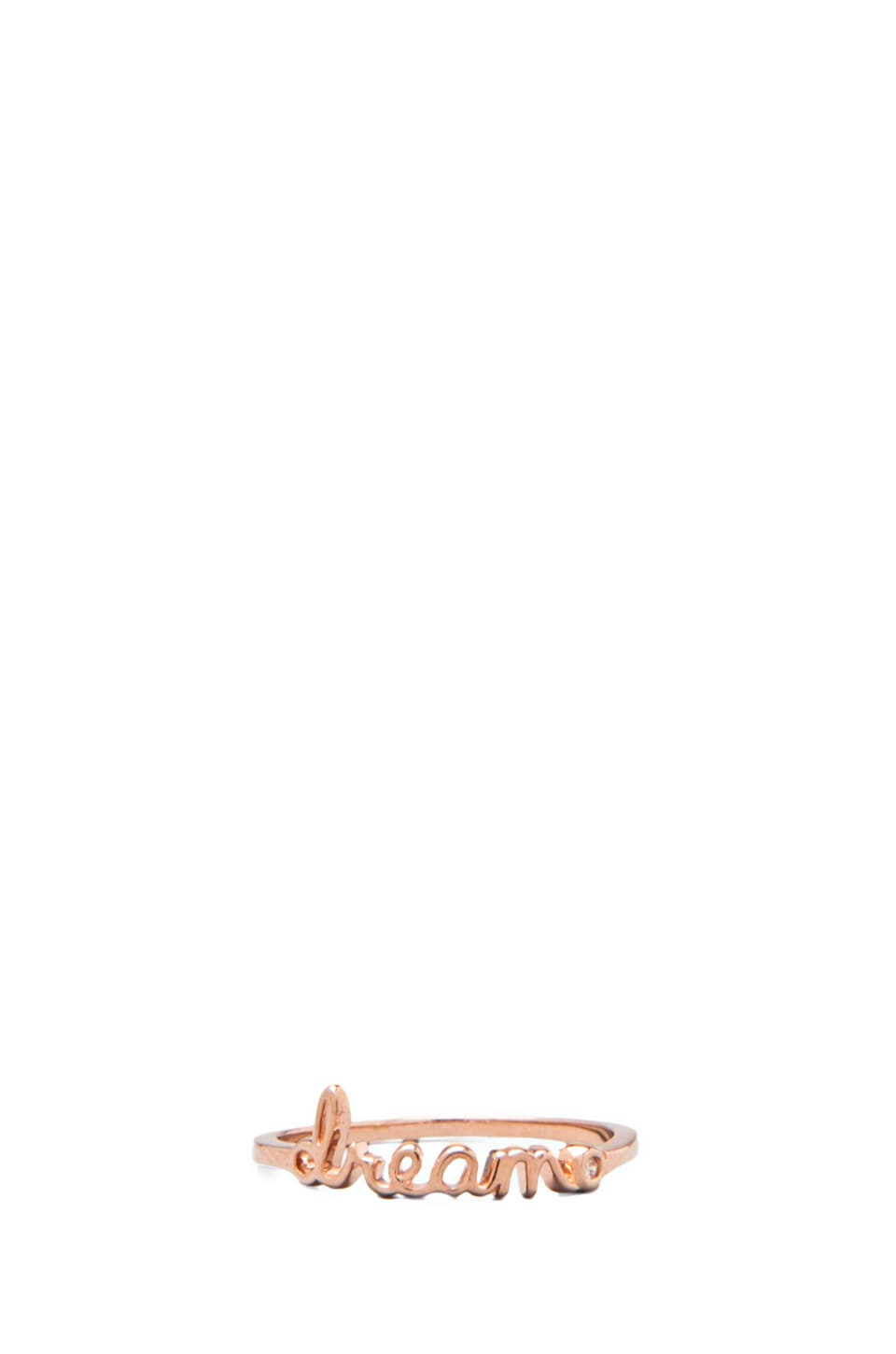 Shy by Sydney Evan Dream Ring in Rose Gold