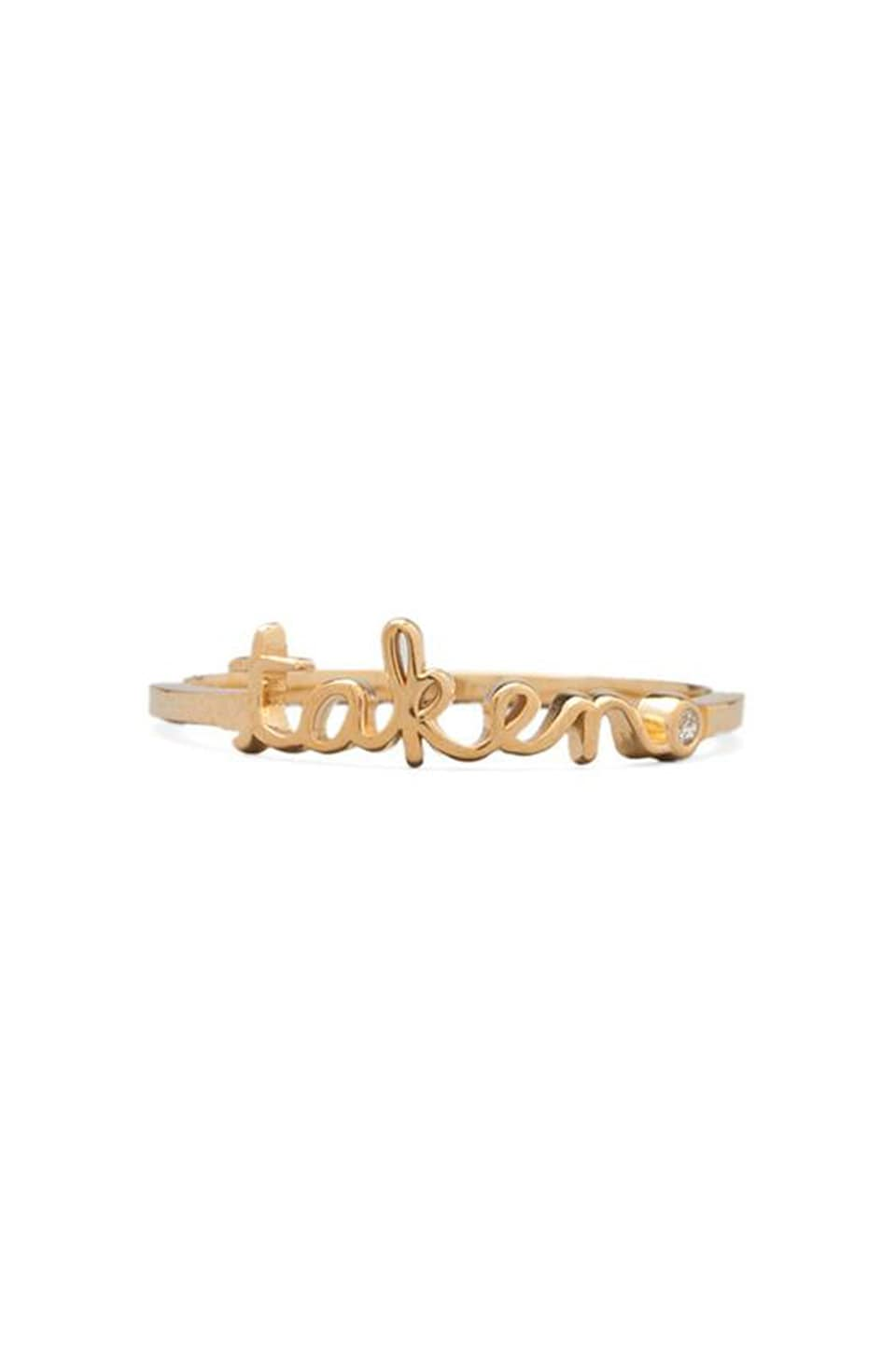Shy by Sydney Evan Taken Ring in Yellow Gold