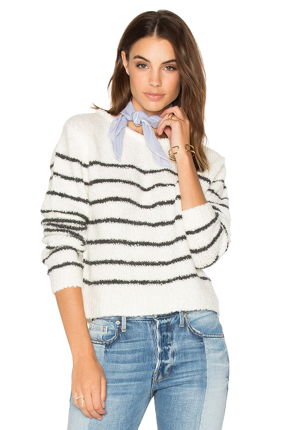 Tula Striped Sweater by Sincerely Jules