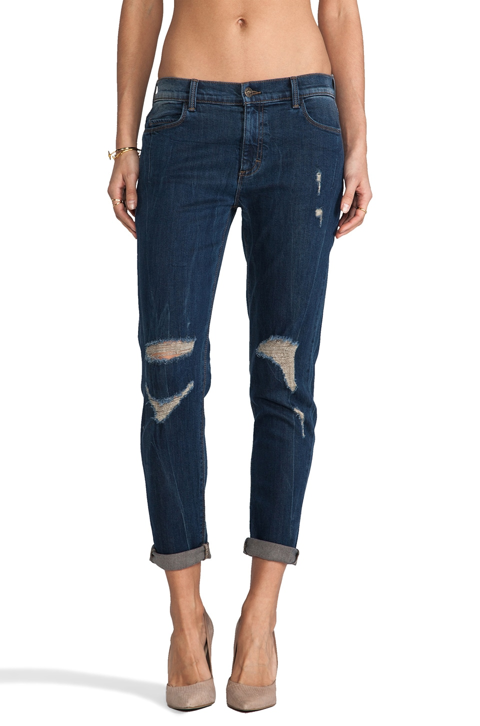 Siwy Kendra Slouchy Skinny in Tidal Wave