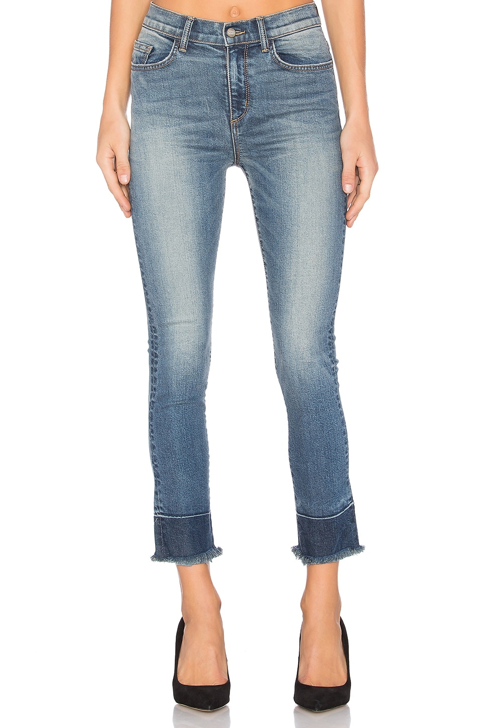 Jackie Slim Straight Jean by Siwy