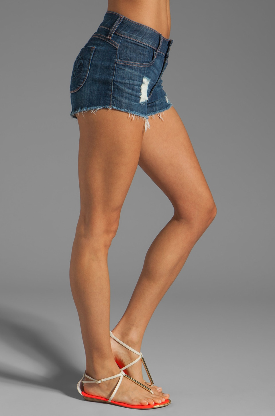 Siwy Jean Maud Cut-Off Shorts in Always With You