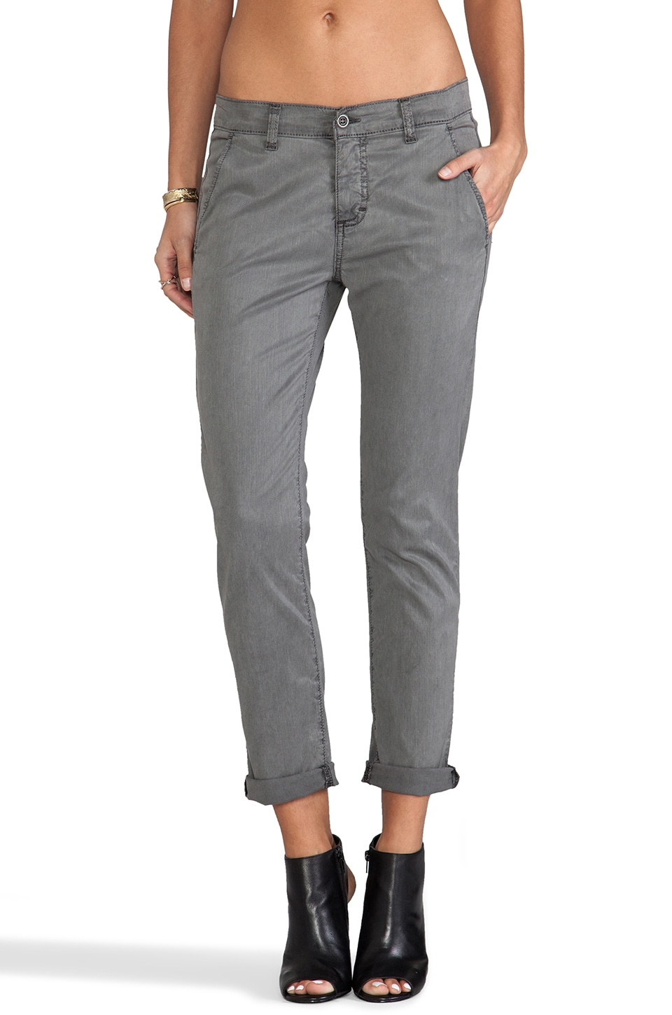 Siwy Fiona Slouchy Cropped Chino in Supernatural