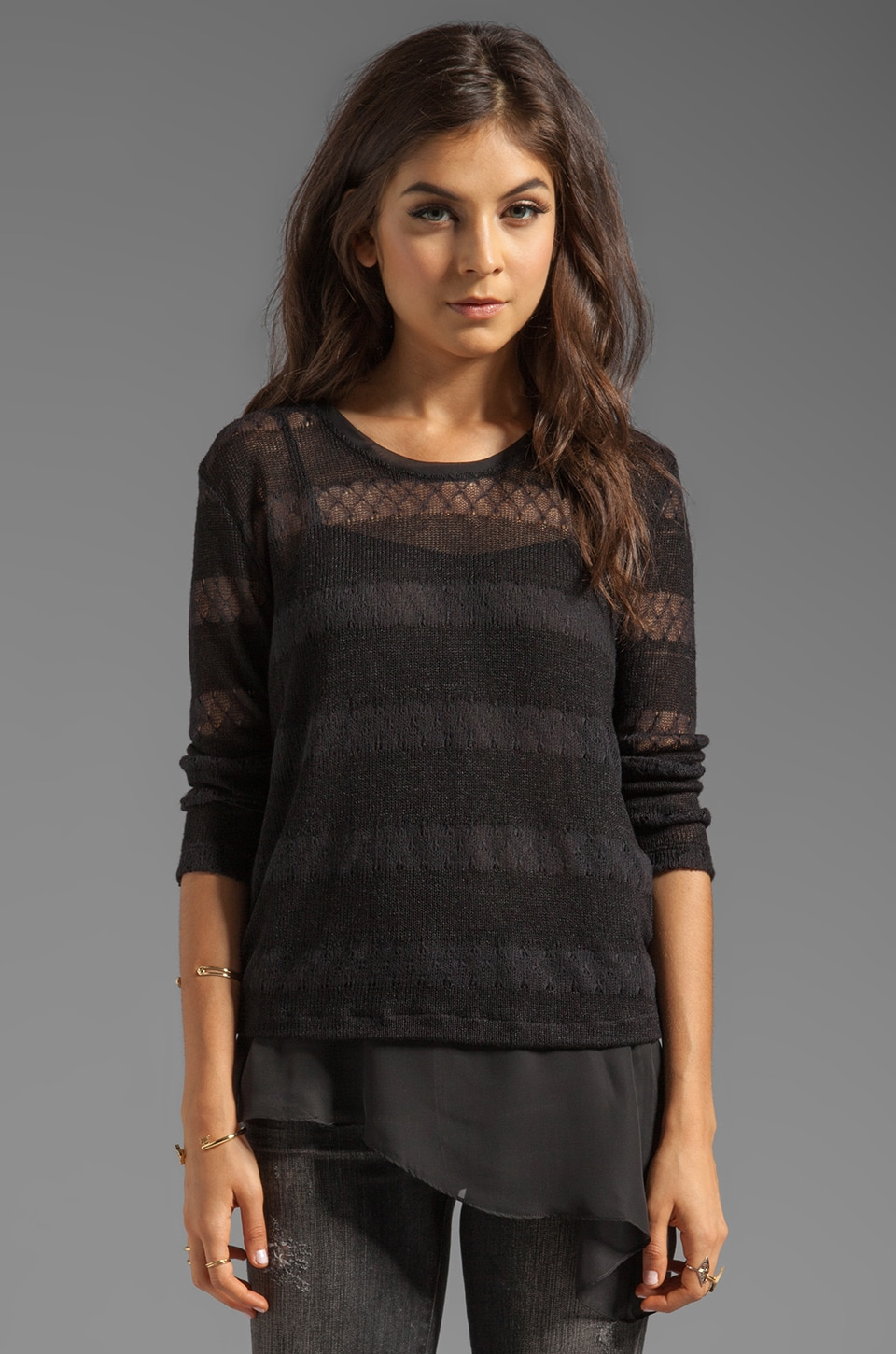 SJOBECK Pacific Pullover in Black