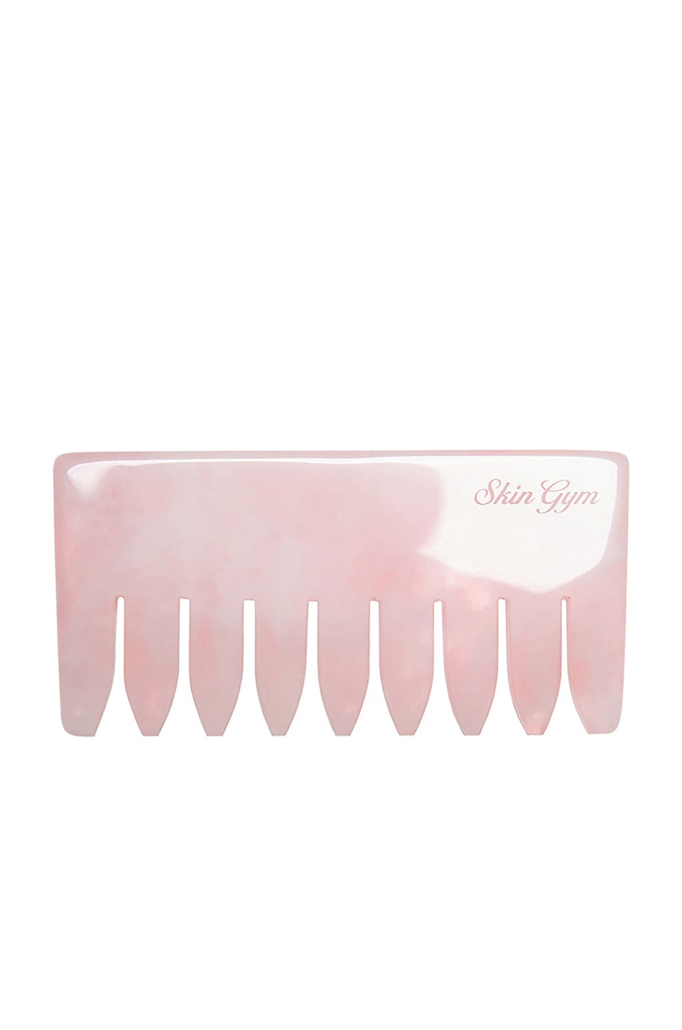 Skin Gym Rose Quartz Crystal Hair Comb