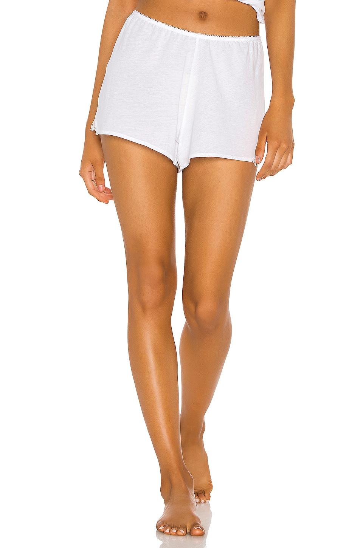 Skin Galice Shortie in White & Natural