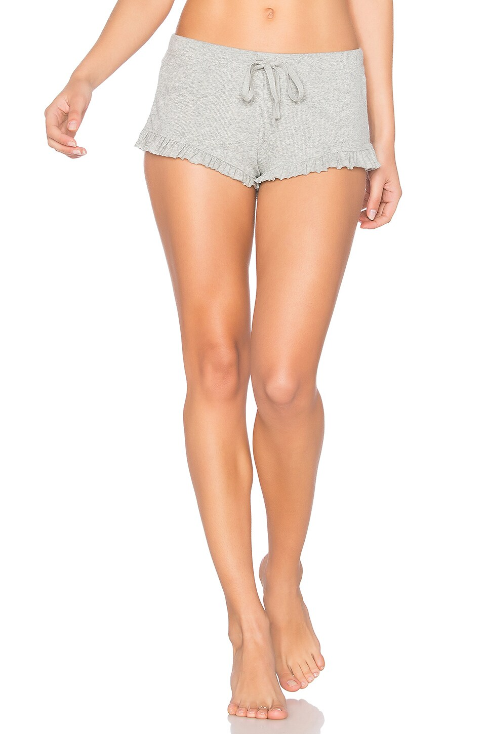 Skin Shorts in Heather Gray