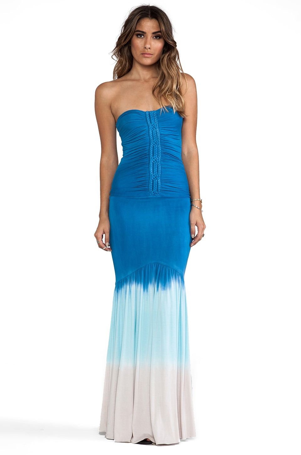 sky Galenka Dress in Blue