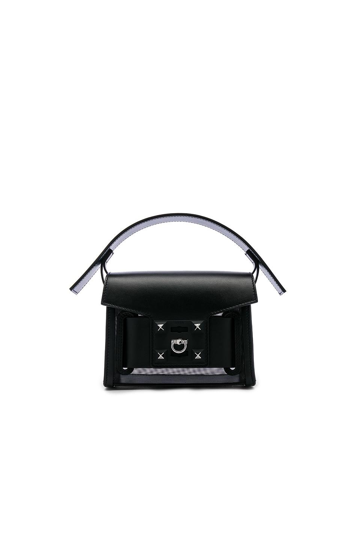 SALAR Gaia Mesh Bag in Black