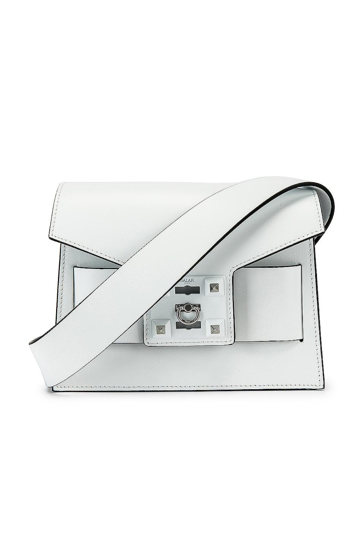 SALAR Mila Basic Bag in White