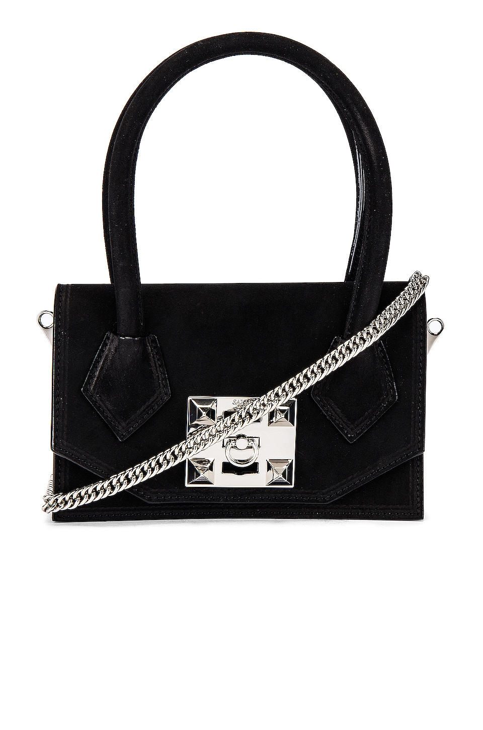 SALAR Kio Soft Crossbody Bag in Black