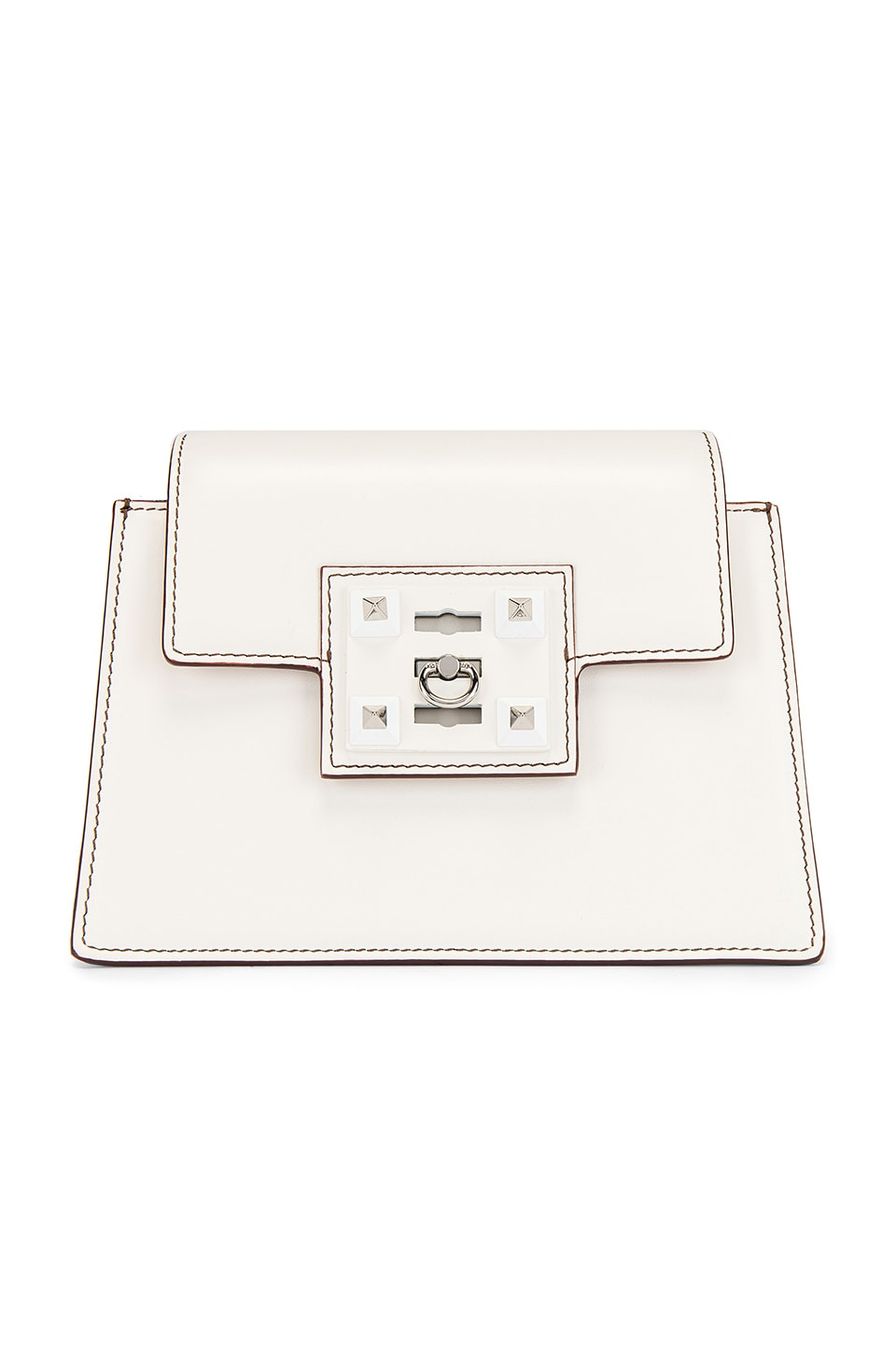 SALAR Tyra Basic Crossbody in White