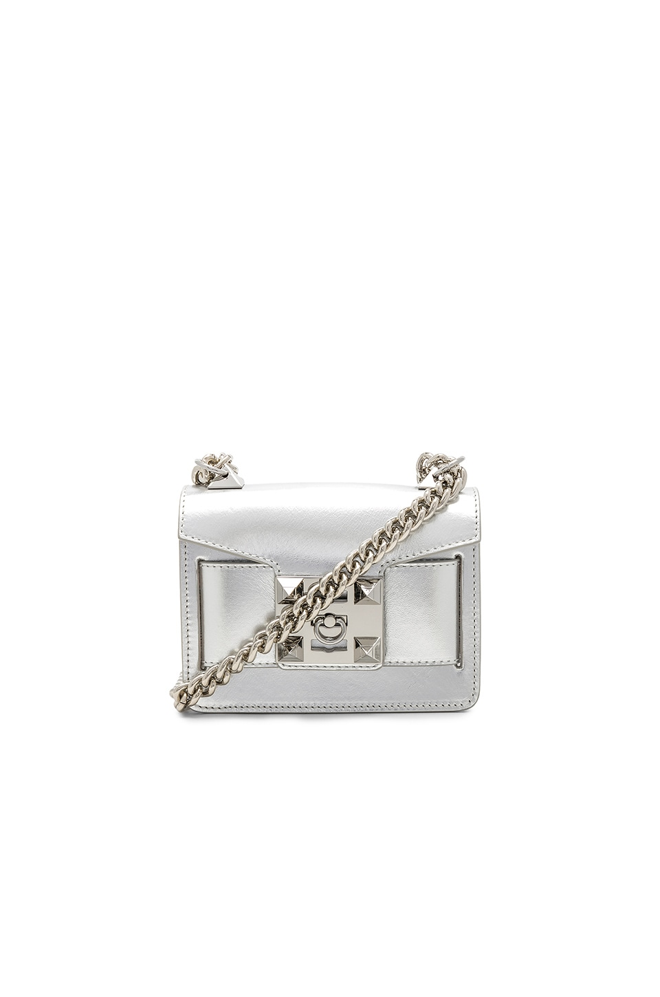 SALAR Gaia Chain Crossbody in Silver