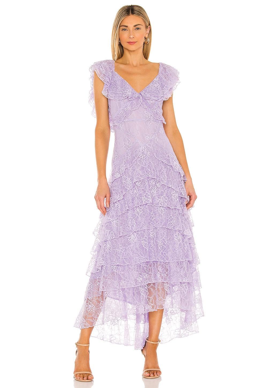SAU LEE Rosie Gown in Lavender
