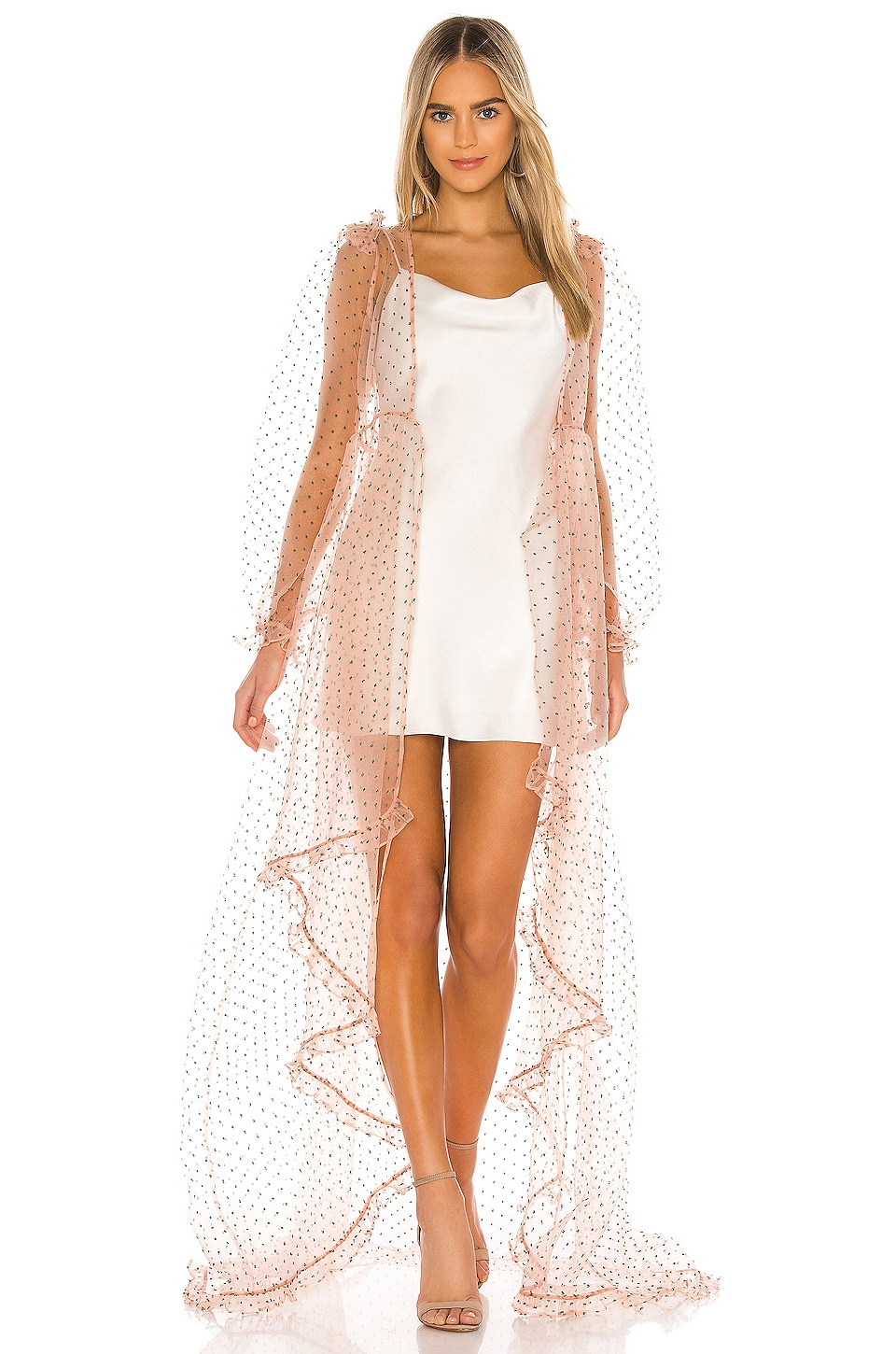 Selkie The Morningglory Kimono Dress in Raphaelite Sprinkle