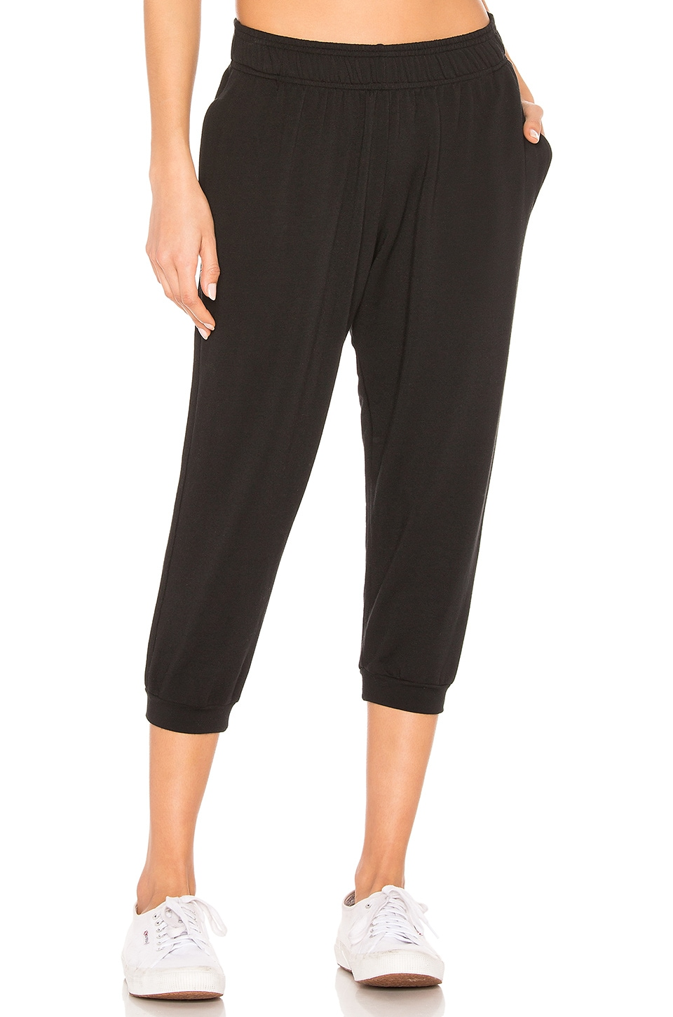 Selkie The Vintage Jogger Sweats in Black