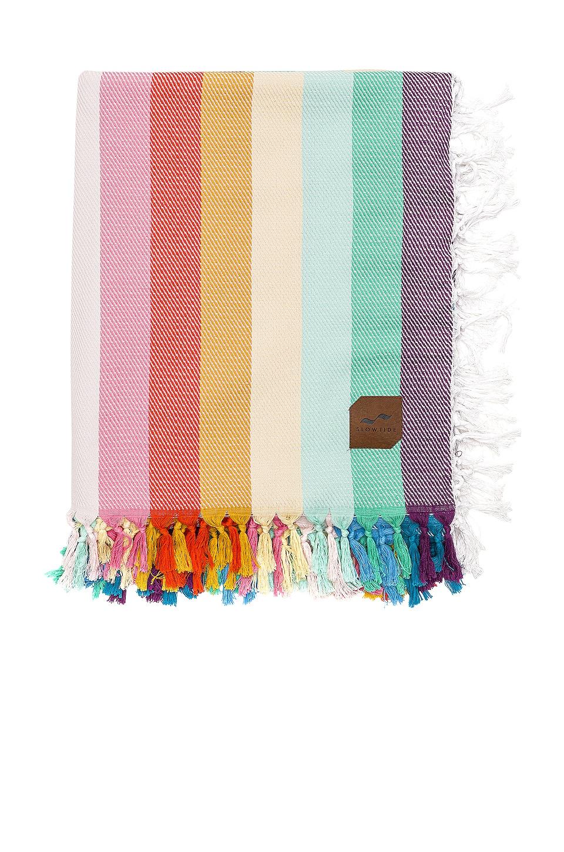 Slowtide Zeppelin Beach Blanket in Rainbow