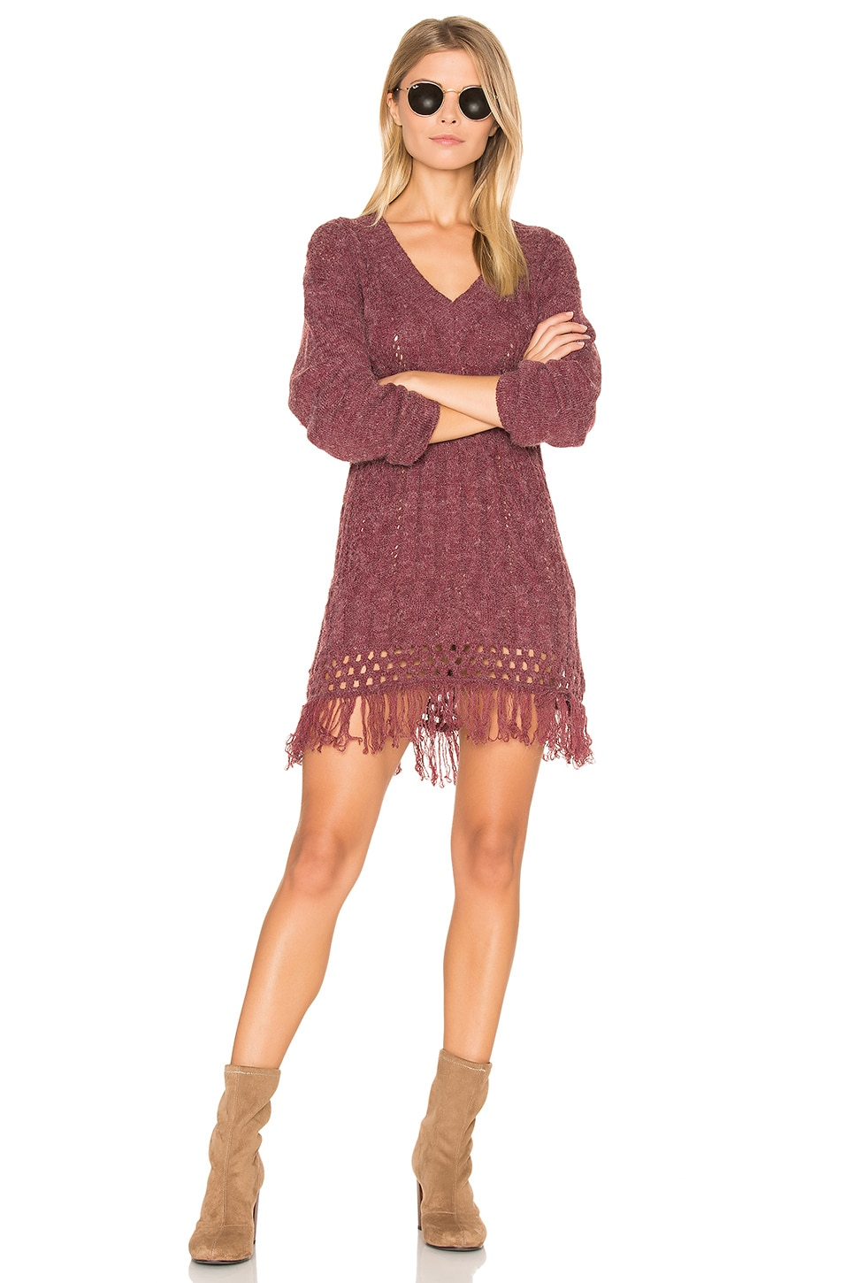 Melrose Cable Knit Tunic by Somedays Lovin