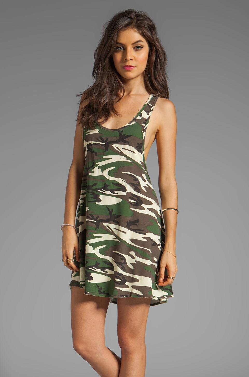 Somedays Lovin Love Fool Dress in Camo