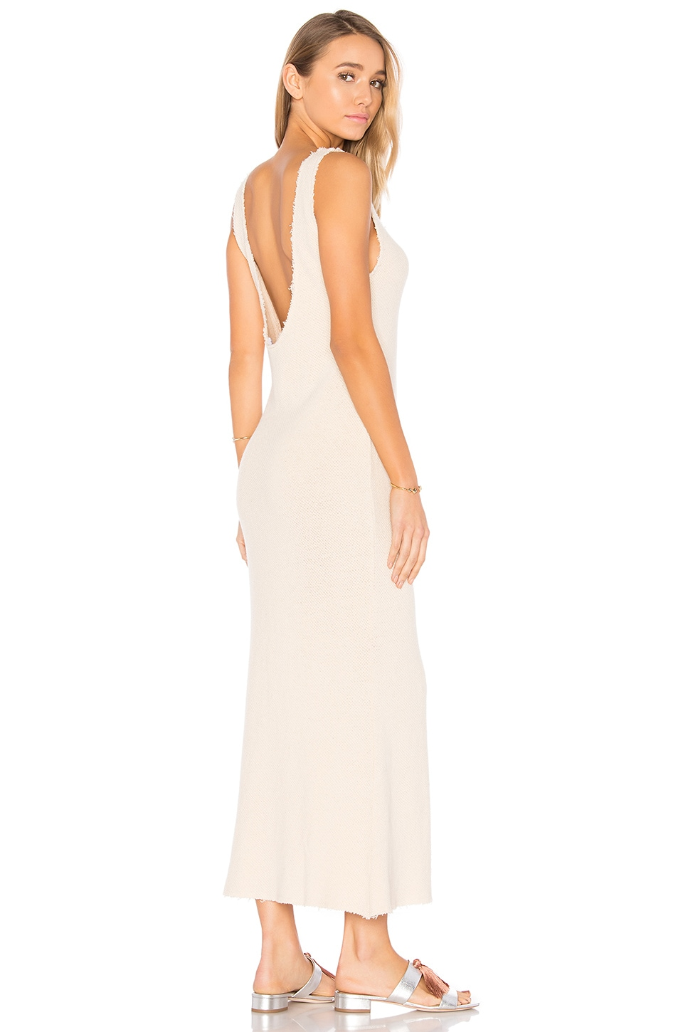 Somedays Lovin Tara Maxi Dress in Bone