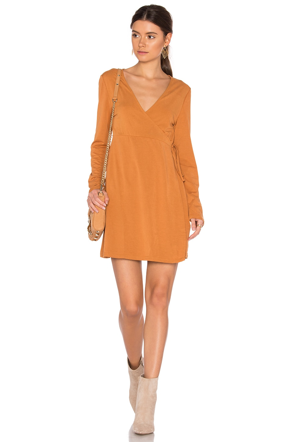 We Were Young Wrap Dress by Somedays Lovin