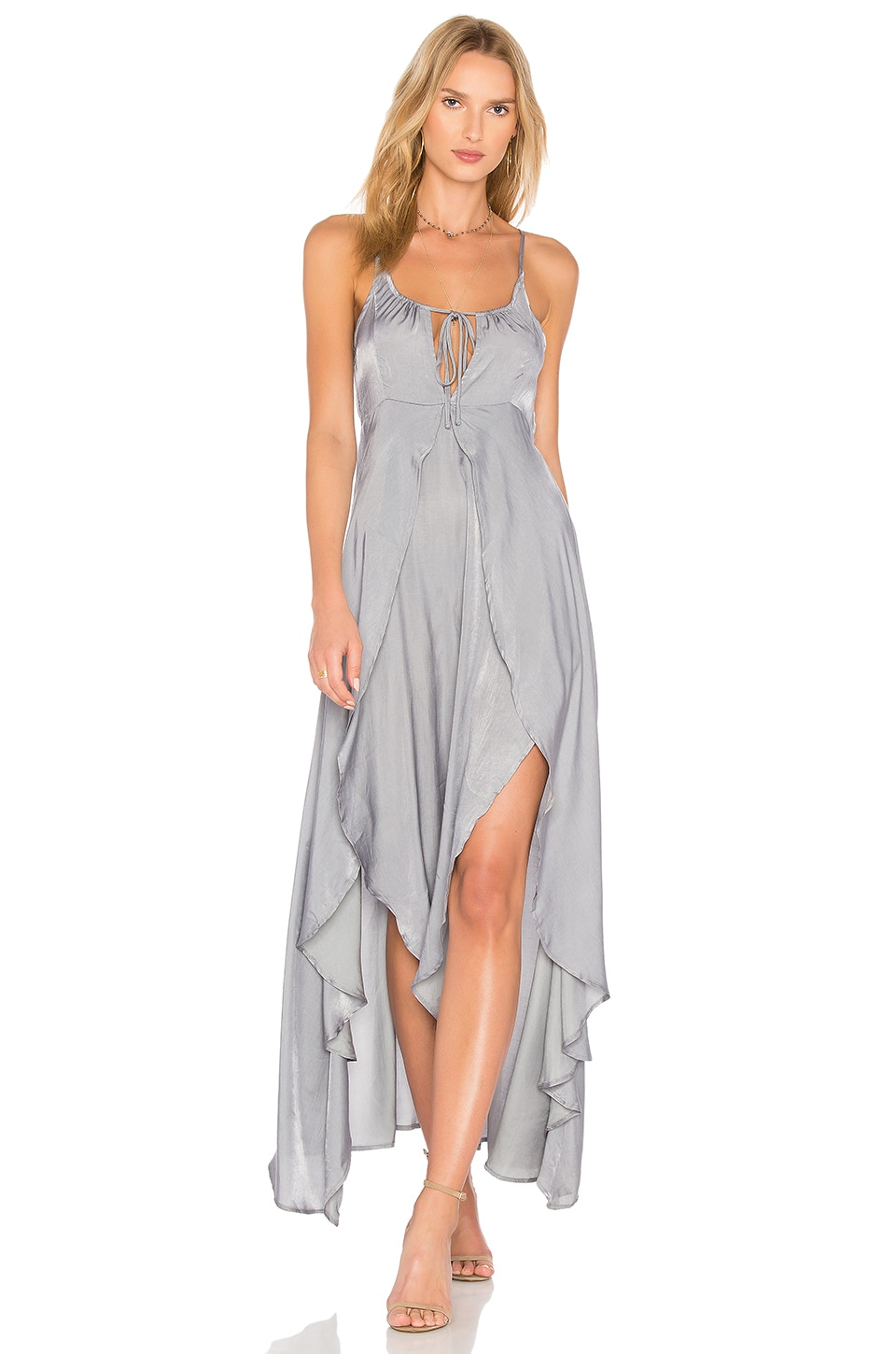 Somedays Lovin Night Hour Maxi Dress in Silver